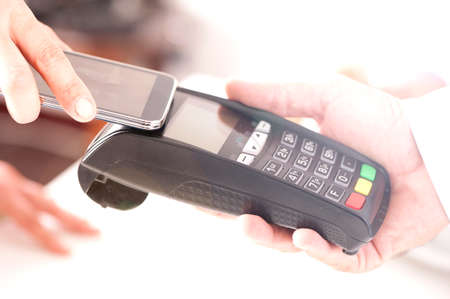 paying with NFC technology on smart phones