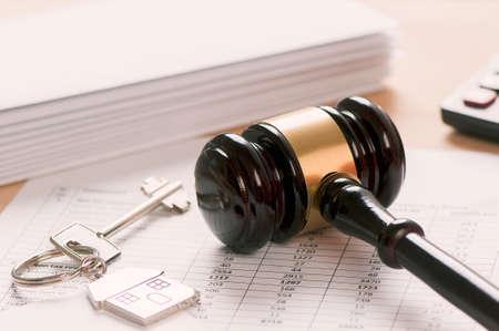 Photo pour Rental contract - image libre de droit