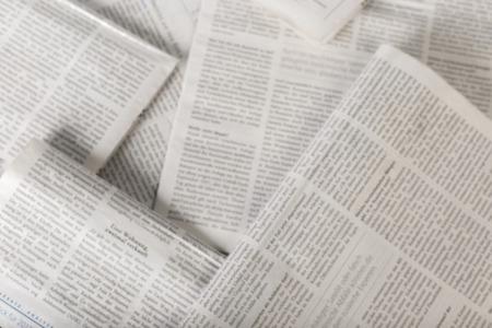 Foto de newspaper background, top view - Imagen libre de derechos
