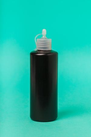 medical bottle close up
