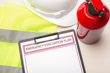 Photo for Emergency evacuation plan - Royalty Free Image