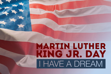 Foto de Happy martin luther king day background - Imagen libre de derechos