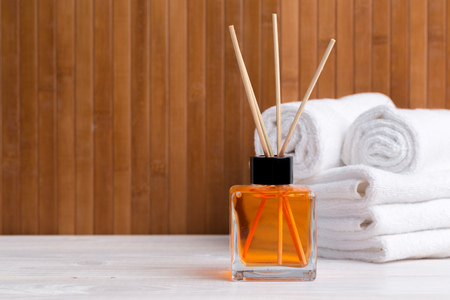 Photo for air freshener sticks at home - Royalty Free Image