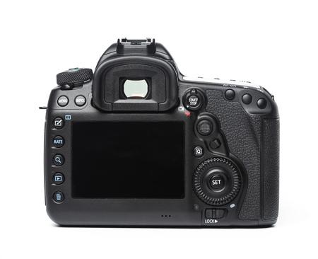 camera isolated on white background