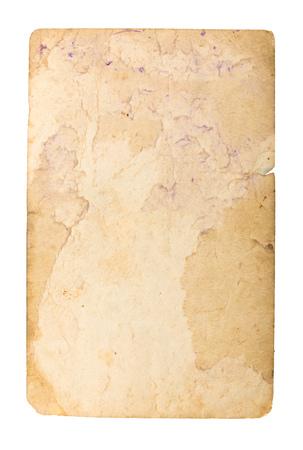 Photo pour Old paper on white background. - image libre de droit