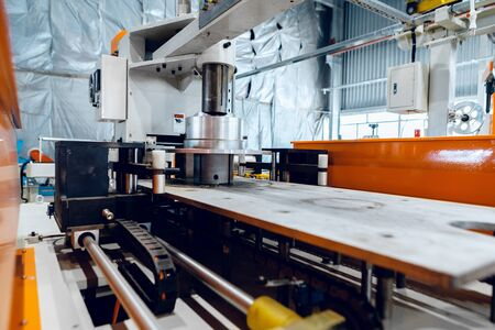 Foto für Inside the new factory manufacturing electrical cable. - Lizenzfreies Bild