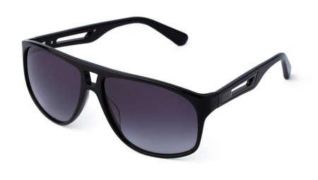 Photo pour Stylish sunglasses isolated on white background, close up - image libre de droit