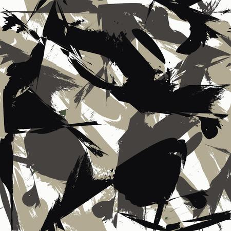 Illustration pour Camouflage seamless pattern - image libre de droit