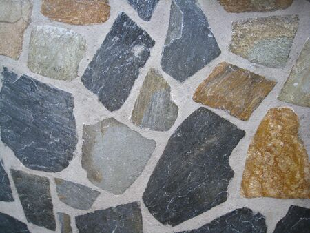 abstract stone paving
