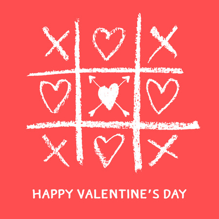 Illustration pour happy valentines day greeting card,xoxo,hug and kiss - image libre de droit