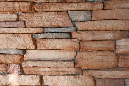 Photo pour Stones bricks wall background and texture. - image libre de droit