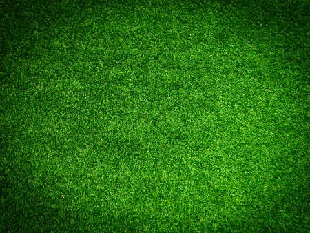 Photo pour Artificial grass background for design, top view - image libre de droit