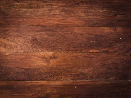 Photo pour Old vintage brown wooden table texture background with copy space for design and work. - image libre de droit