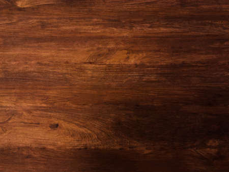 Photo for Brown wooden plank texture background for design with copy space - Royalty Free Image