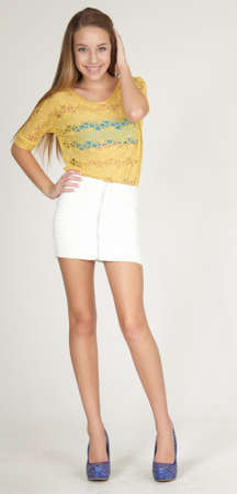 Teen short skirt picture opinion