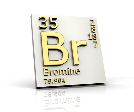 Bromine form Periodic Table of Elements