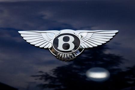 Bentley emblem - outside shoting