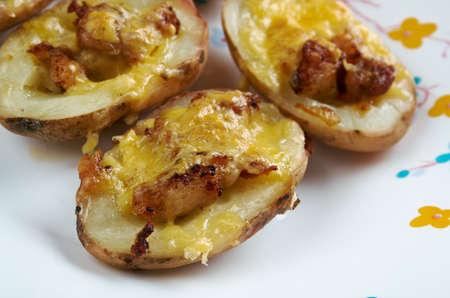 patate ripiene al forno - Italian stuffed potato