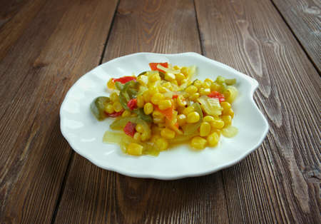 Homemade Canned Pickled Corn relish