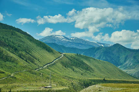 Chuysky Trakt, Chuya Highway trunk road in Novosibirsk Oblast, Altai Krai and Altai Republic of Russia.