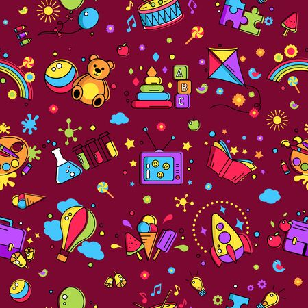 Colorful Pattern Creative Idea For Children Promo Playing Space