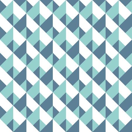 Ilustración de Abstract seamless geometric pattern. Vector polygonal background. Chevron wallpaper or fabric texture - Imagen libre de derechos
