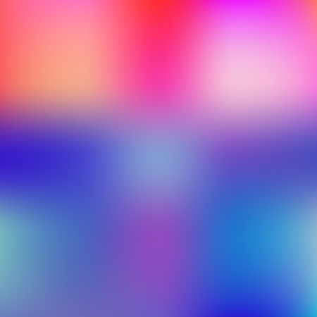 Illustration for Colorful Background. Defocused Blue and Red Color Blurred Backdrop. - Royalty Free Image