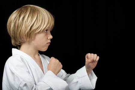 Karate kid training