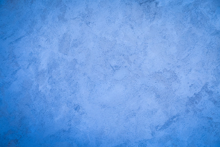 Photo for Blue wall cement paint texture background - Royalty Free Image