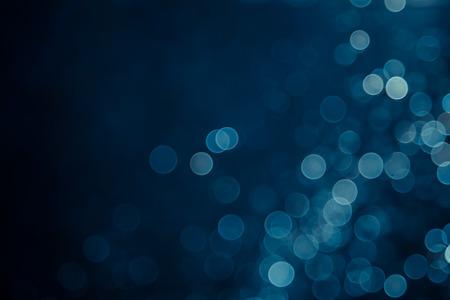 Photo pour abstract blue bokeh background - image libre de droit