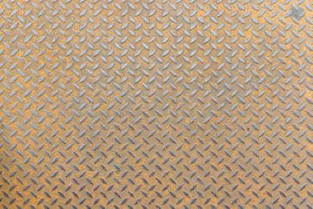 Foto de stainless steel floor plate texture background - Imagen libre de derechos