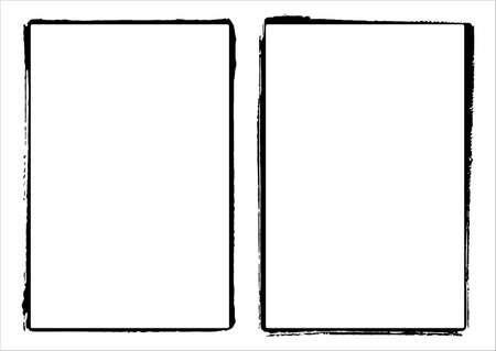 Two  Film Frame Edges / Borders