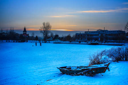 winter scenery at Volga Manor
