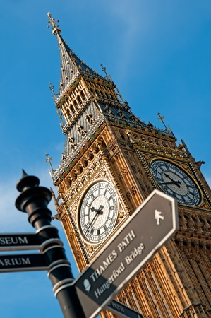 Photo for Close up image of Big Ben  - Royalty Free Image
