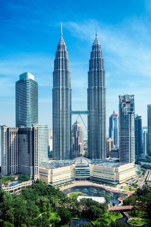 Petronas Towers and KLCC Park in Kuala Lumpur