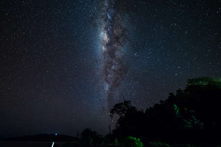 The outstanding beauty and clarity of the Milky Way and the starry sky captured from near th