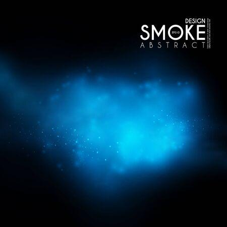 Illustration pour Fog, mist and smoke steam clouds. Transparent effect. Depth design. - image libre de droit