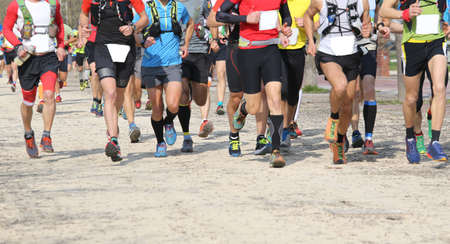 many runners run in the outdoor race