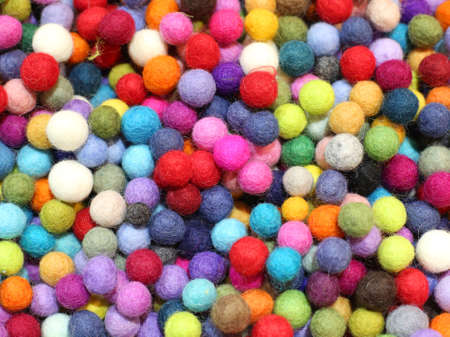 background of many small balls for sale