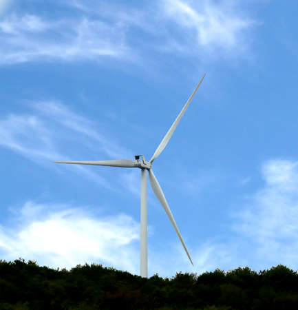 wind turbine to produce renewable energy without pollution