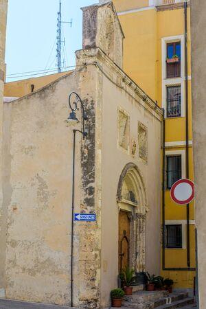 The church of Nostra Signora della Speranza, commonly known as the church of Speranza, is located in Cagliari, in the historic district of Castello, in Via Duomo