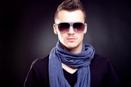 Fashion boy in sunglasses
