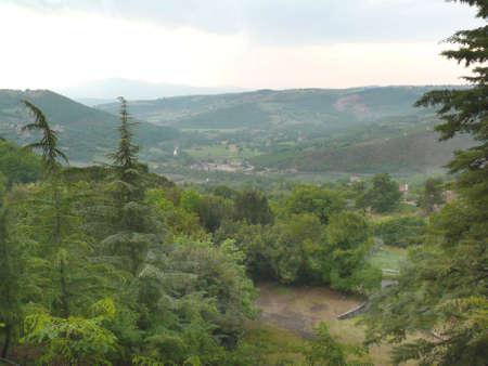 Parrano hill (Terni - Italy)