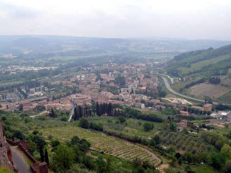 Parrano view (Terni -Italy)