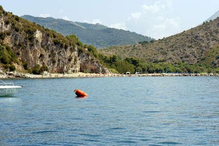 Charming tract of coast along Policastro gulf, Italy
