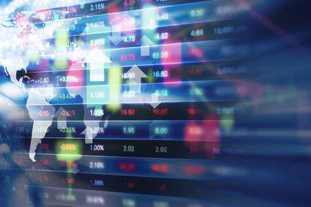 Foto de Stock market background design - Imagen libre de derechos