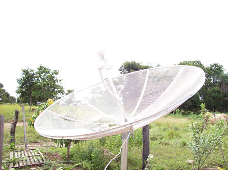 Foto per antenna parabolica - Immagine Royalty Free