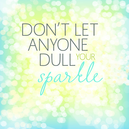 Inspirational quote art - Don