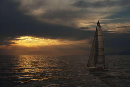 Foto per Verso la tempesta - Immagine Royalty Free