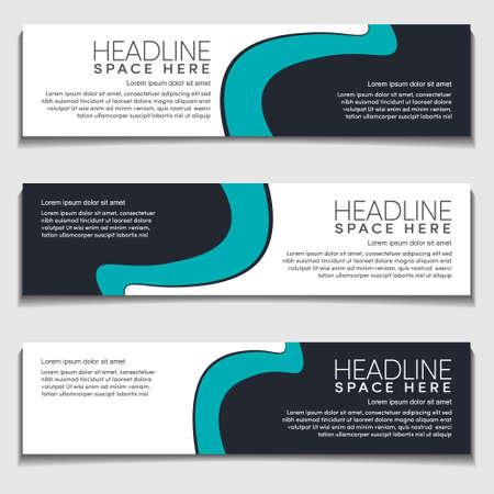 Illustration pour Design Modern Wavy, Wave, Curve Cyan Gradient Light Background for Web Banner, Label, Header, Publication Advertising.Vector Abstract EPS10 - image libre de droit